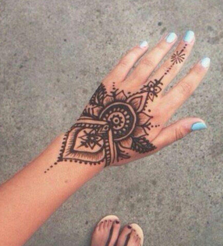 Henna, Henna Tattoo Designs, Hand