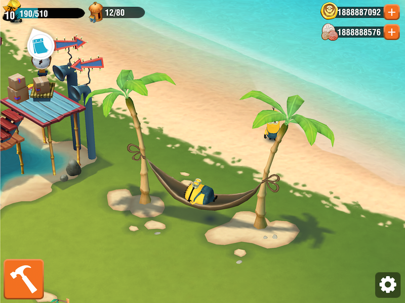 Hack Minions Paradise for ios ind android Minions