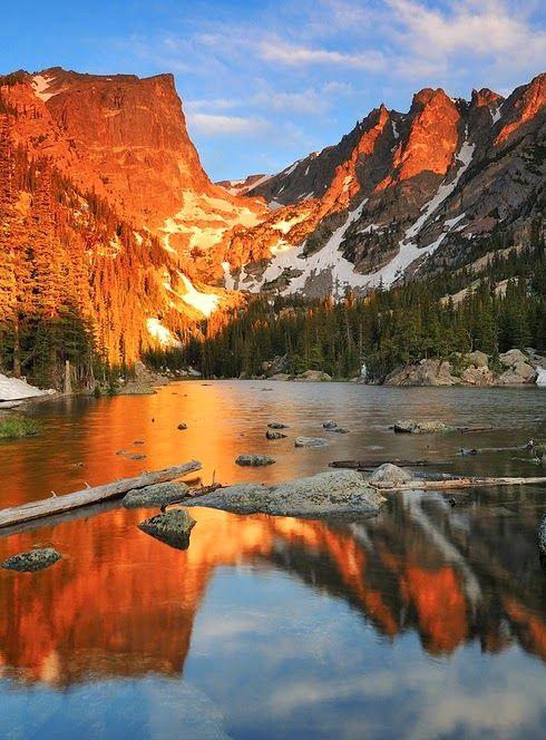 Dream Lake, Rocky Mountain,Colorado