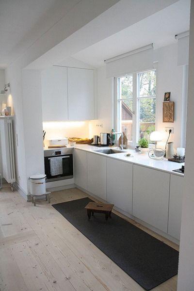 Helle Küche Fräulein Otten Drinnen - In der Küche Pinterest - küchenzeile weiß hochglanz