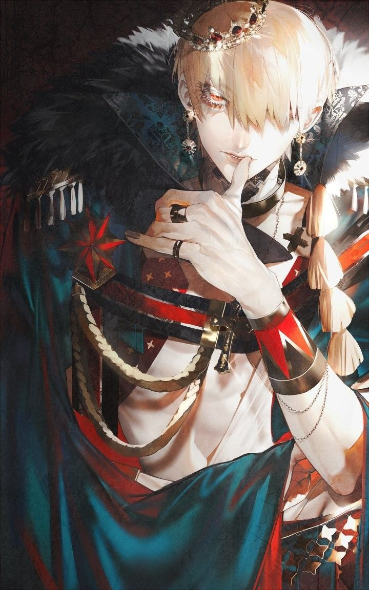 gilgamesh Fate anime series, Character art, Gilgamesh