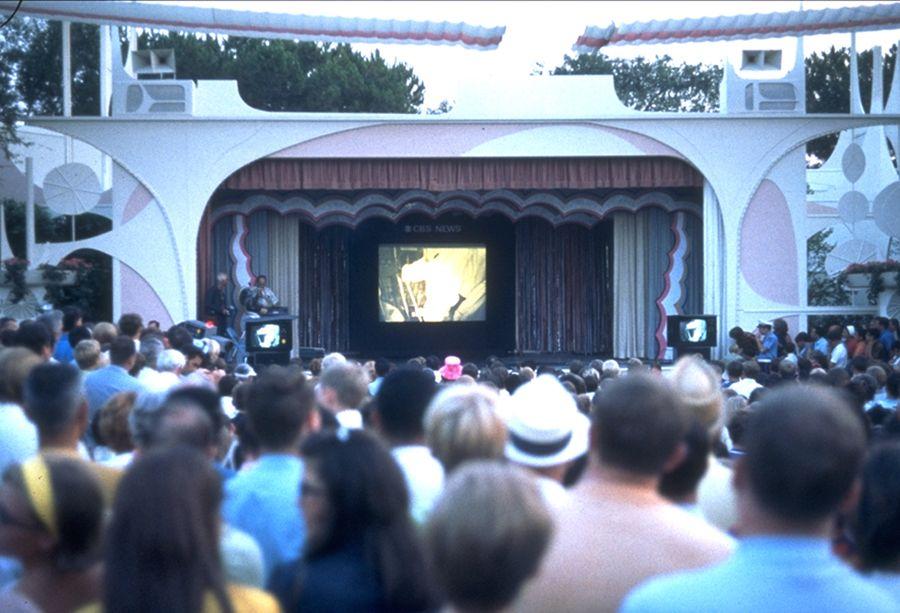 A Look Back at July 20, 1969: Apollo 11 Moon Landing Watched Live at Disneyland Park
