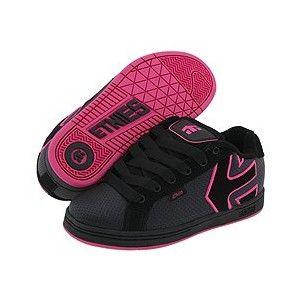 2fc1225fd21b7a etnies Fader W (Black Black Pink) - Women s Shoes