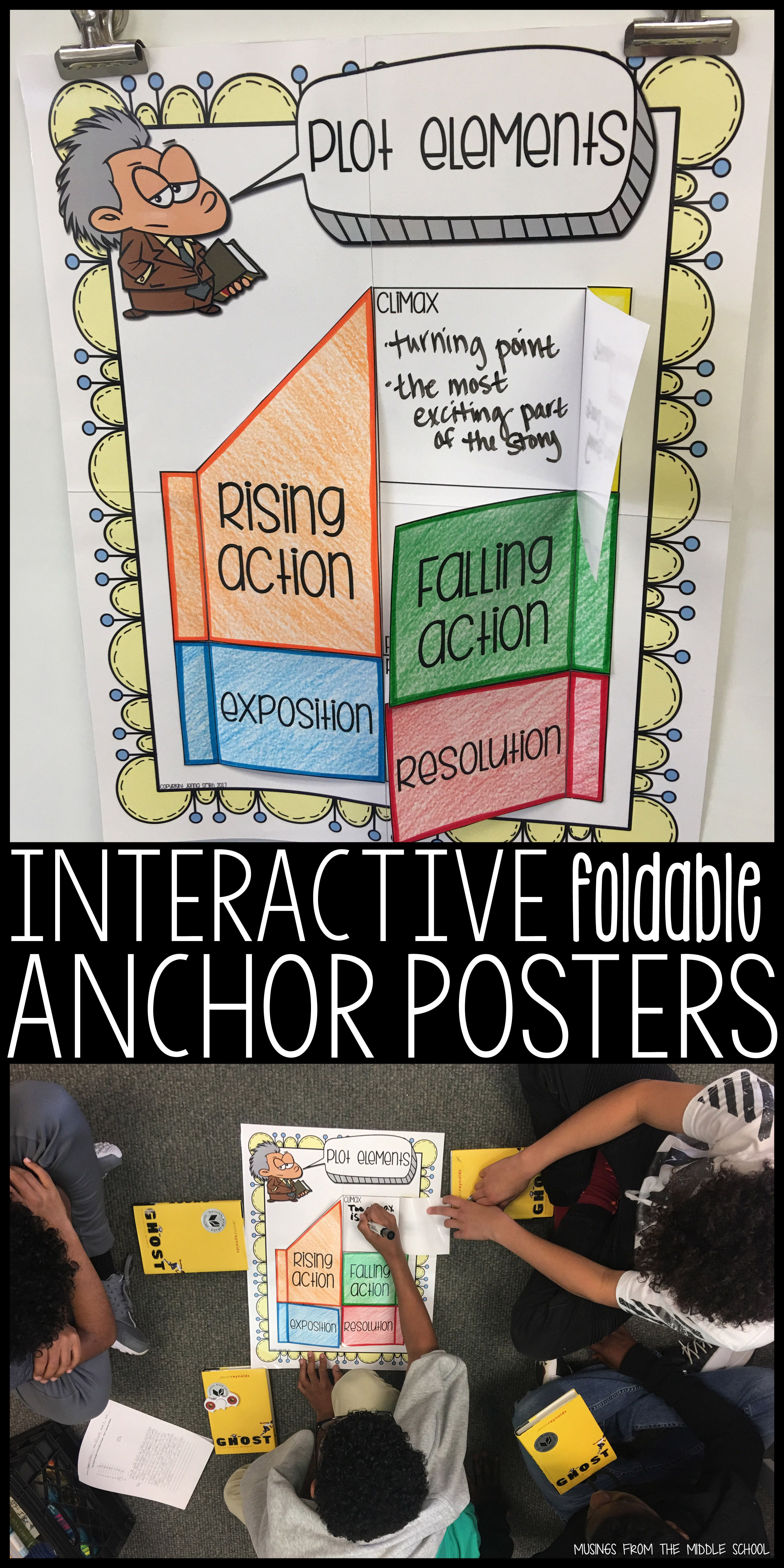Interactive Anchor Posters