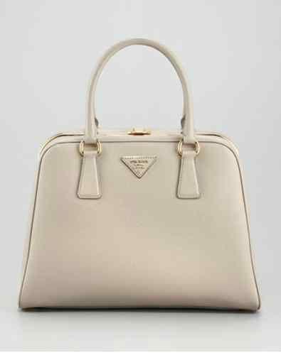 9b9855e21ff6 PRADA -borsa cerniera saffiano lux pyramid tote bag | Bags | Prada ...