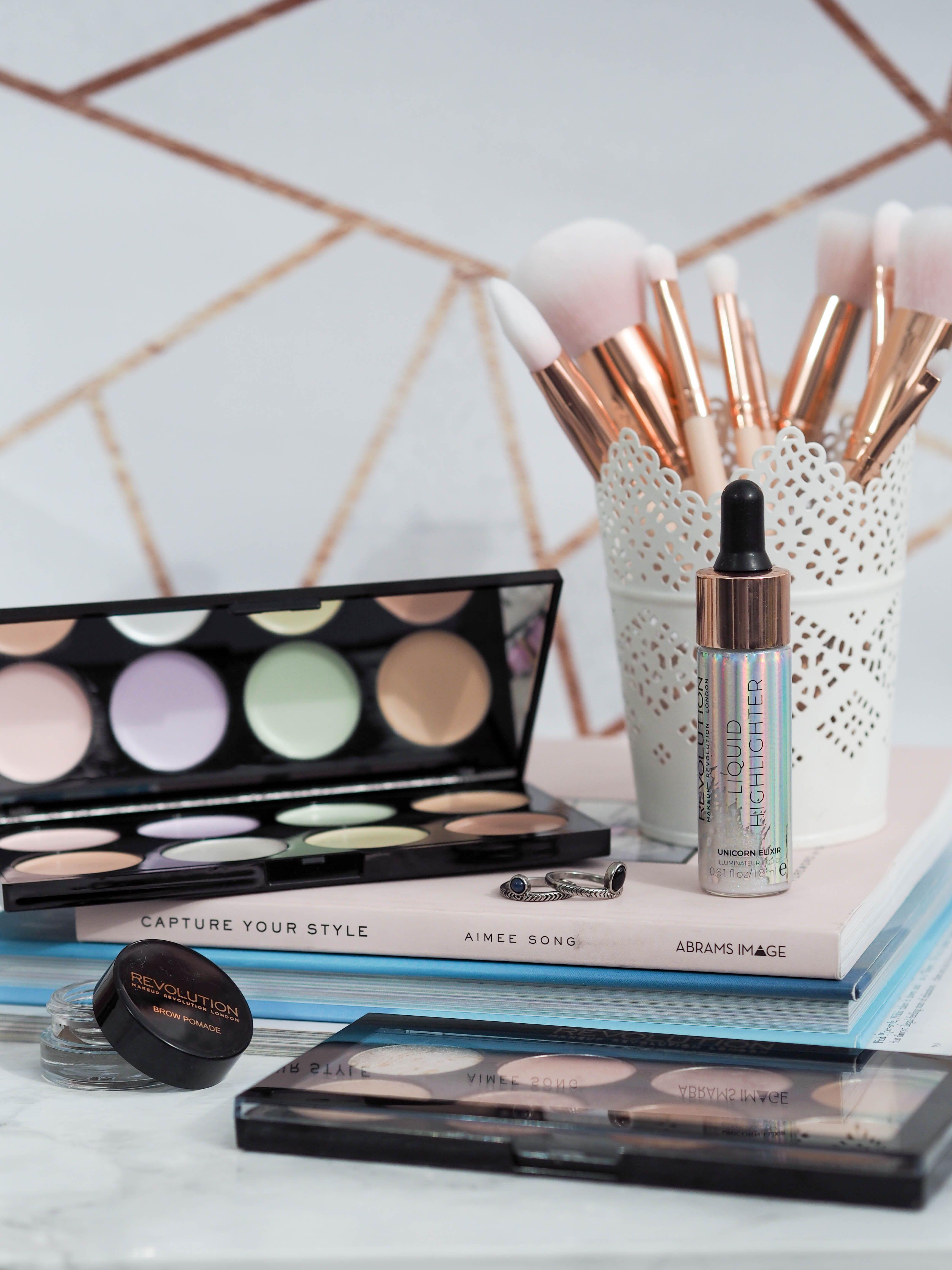 Makeup Revolution Haul from TAM Beauty Makeup revolution