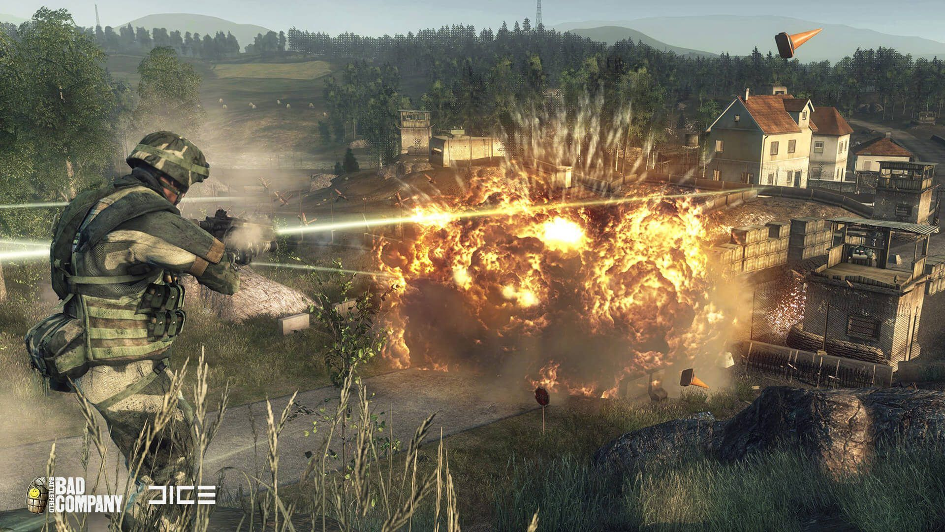 Battlefield Bad Company Now Playable On Xbox One It Feels Like Battlefield Bad Company C Battlefield Bad Company Battlefield Bad Company 2 Battlefield Games