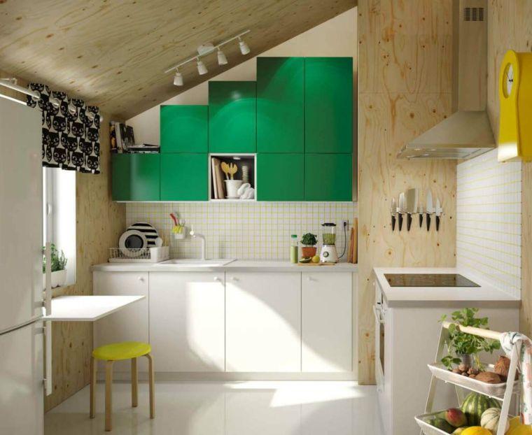Mobili Cucina Ikea Misure.Cucina Ikea Come Organizzare Mansarda Mobili Misura Accenti Colore