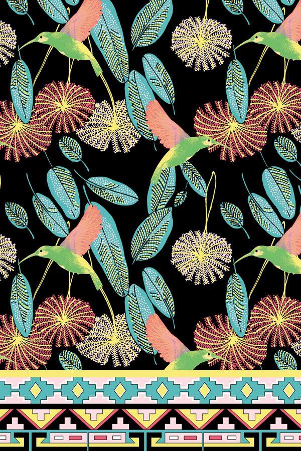 Bird of Paradise Jade/Kiwi by Matthew Williamson Jade