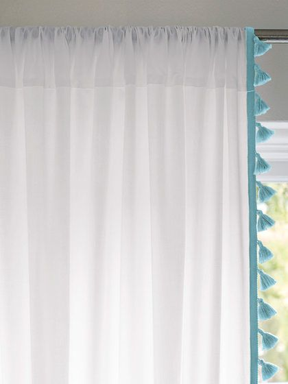 French Tassel Window Panel By Serena Lily Window Panels
