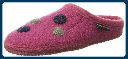 Haflinger Damen Walktoffel Solvejk Pantoffeln, Pink (Azalee), 42 EU