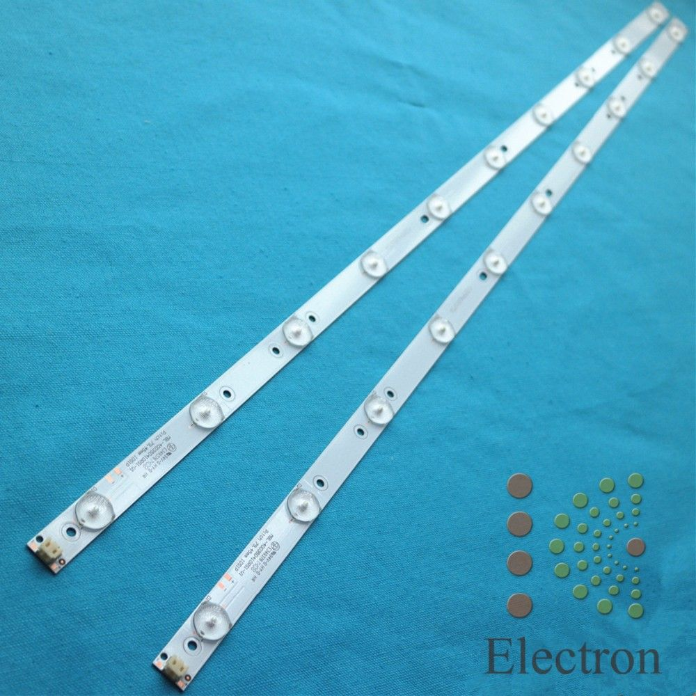 2pcs 40 775mm 17mm 10leds Led Backlight Lamps Led Strips W