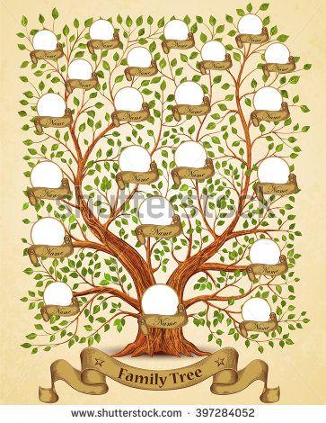 Pin by Patti Jo on Ae - MY LIFE HISTORY Pinterest Family trees - printable family tree free