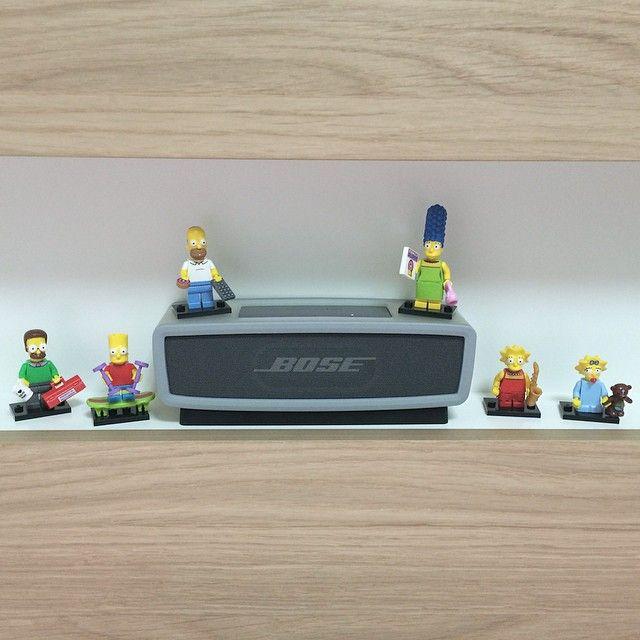 #lego #LEGO #심슨 #simpsons #미니피규어 #사운드링크미니 #보스 와 함께 장식ㅋㅋ내 머리맡을 지켜주징 ㅋㅋ 프리미엄 붙어서 샀어도 아낍지 않앙 짱귀여웡 다른 심슨미니피규어도 구해야지 올해 시즌2나온다는 소문이