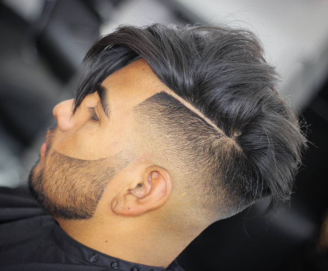 Shaved sides haircut men nice  impressive shaved side hairstyles  classic cuts for men