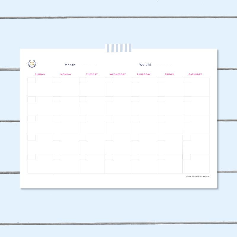 Workout Schedule Template   Workout schedule, Fitness ...