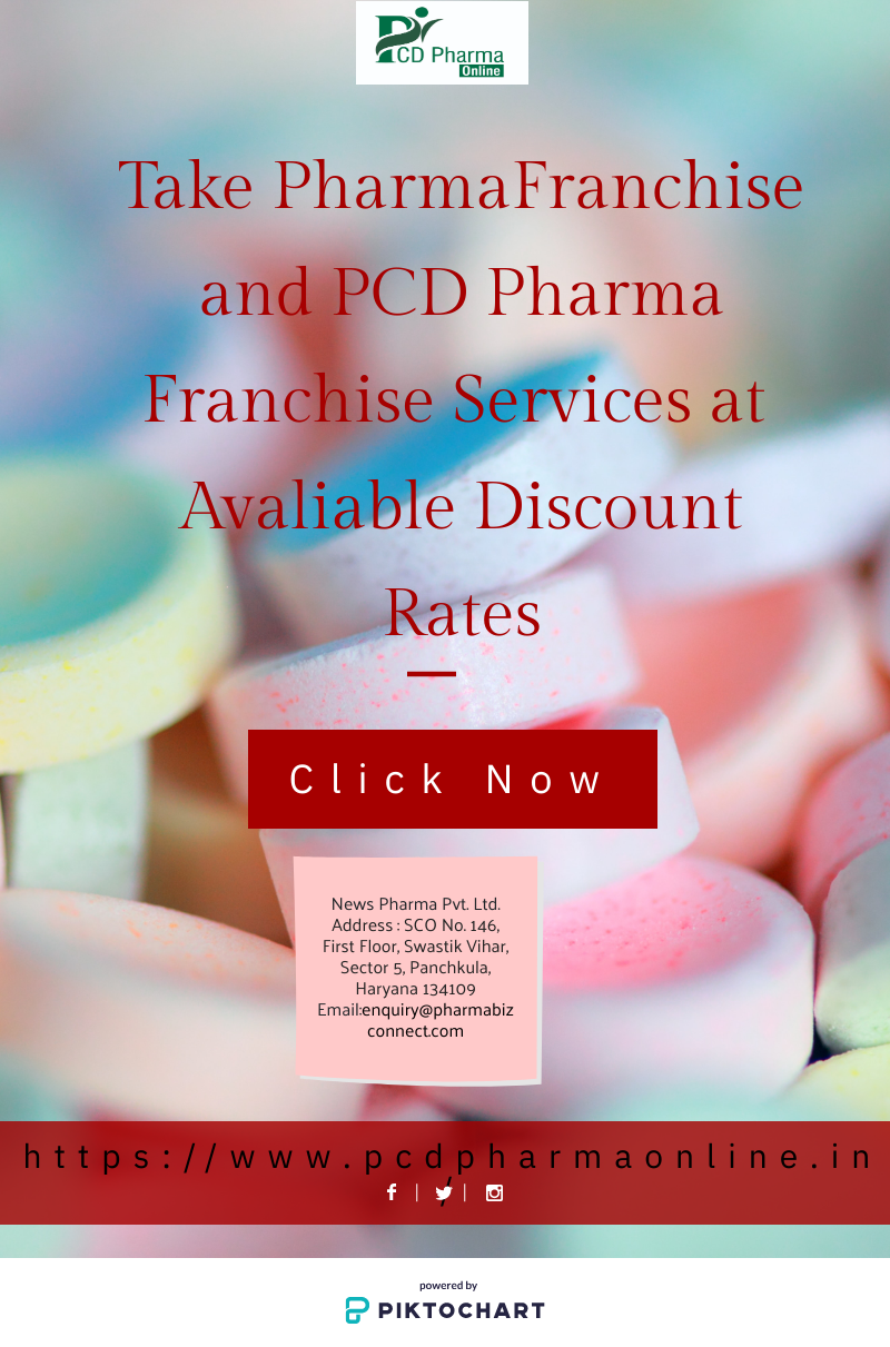 Get Pharma Franchise and PCD Pharma Franchise at available