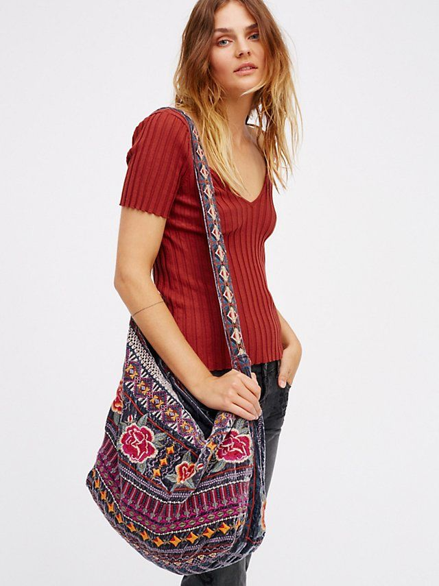 Velvet Bloom Tote from Free People!