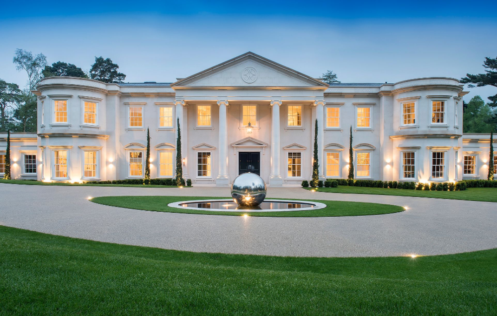 The 29million Surrey Mansion Up For Sale Get Surrey House Plans Mansion Luxury Houses Mansions Luxury Homes Dream Houses