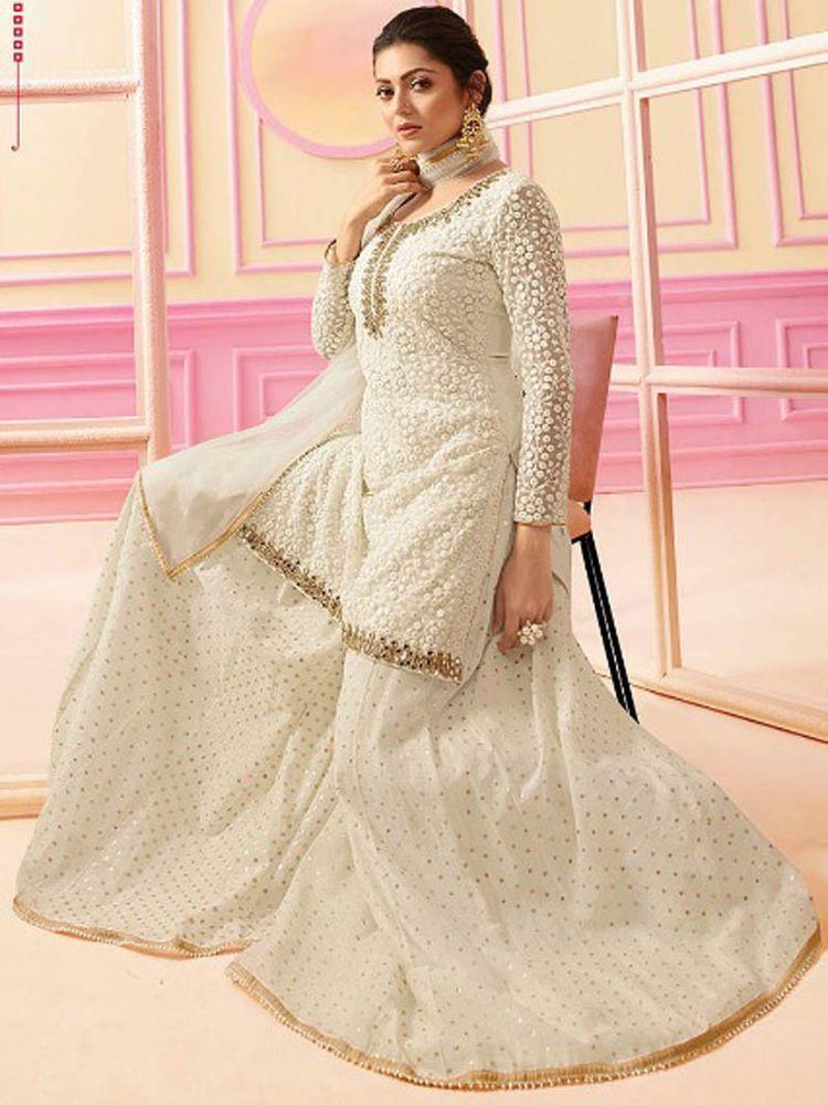 4d3eb9e897070 #Latest# Indian #Designer# Sarara Suit #Bollywood# Wedding #salwar kameej # Party #Wear #Handmade #Indian