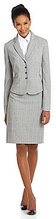 Tahari by Arthur S. Levine Plaid Skirt Suit on shopstyle.com.au
