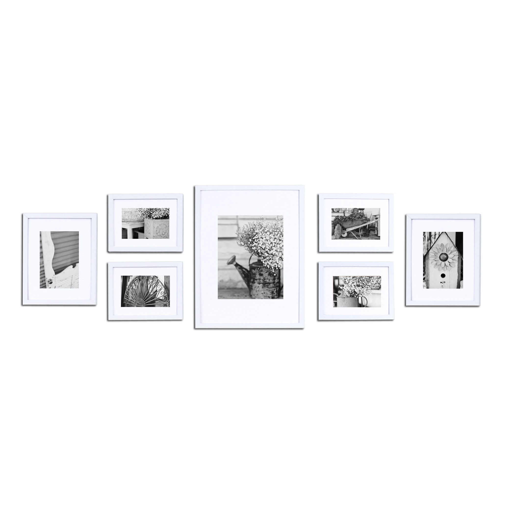 Nielsen bainbridge gallery 7 piece perfect wall picture frame set nielsen bainbridge gallery 7 piece perfect wall picture frame set jeuxipadfo Image collections