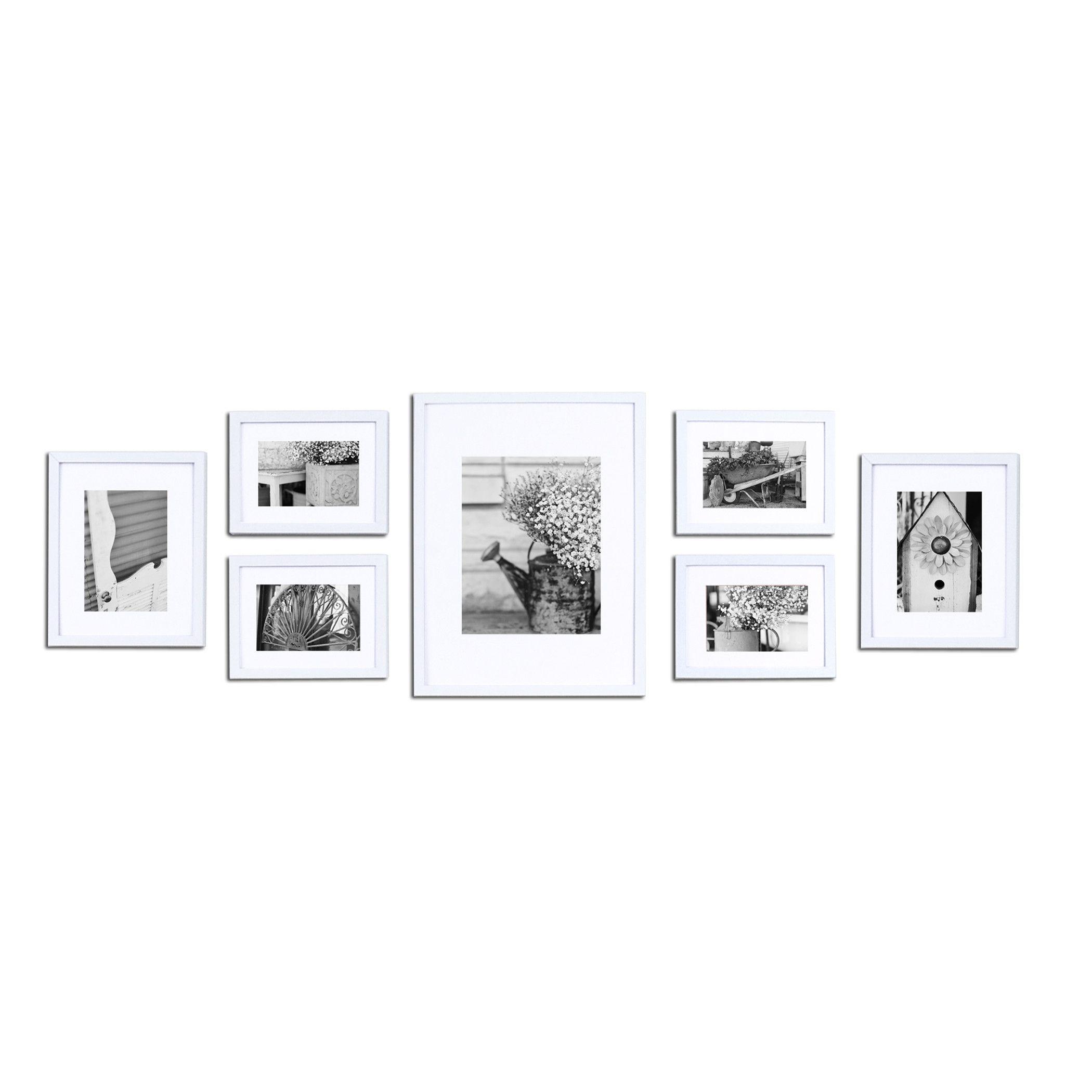 Nielsen Bainbridge Gallery 7 Piece Perfect Wall Picture Frame Set