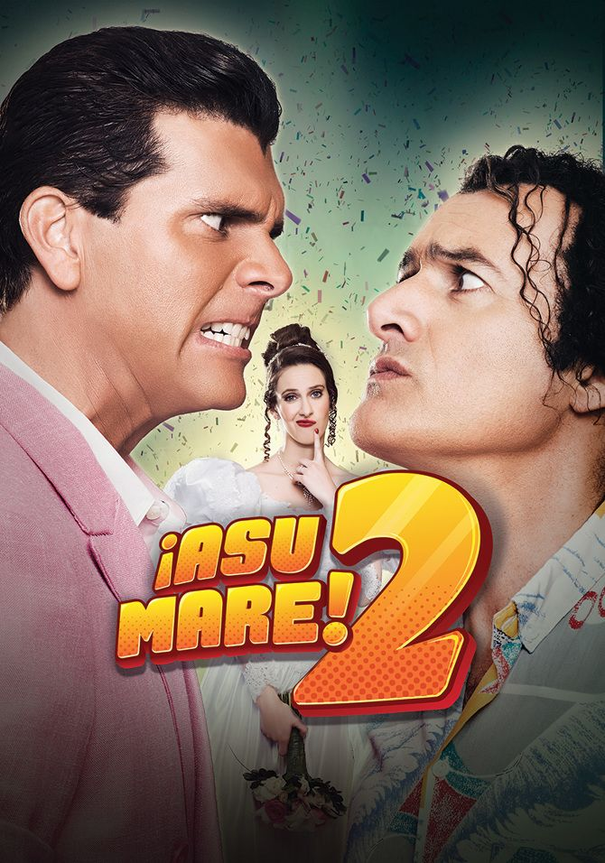 Si tu fueras Emilia, ¿A quién eligirías?... Ricky o Cachín? No te pierdas la película peruana !ASU MARE 2! .