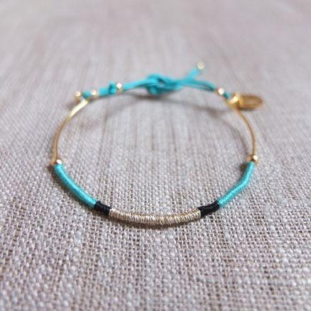 bracelet a faire soi meme avec du fil