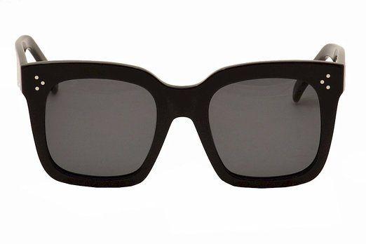 f76e84d3333 Celine 41076 807BN Black Tilda Wayfarer Sunglasses Lens Category 3 ...