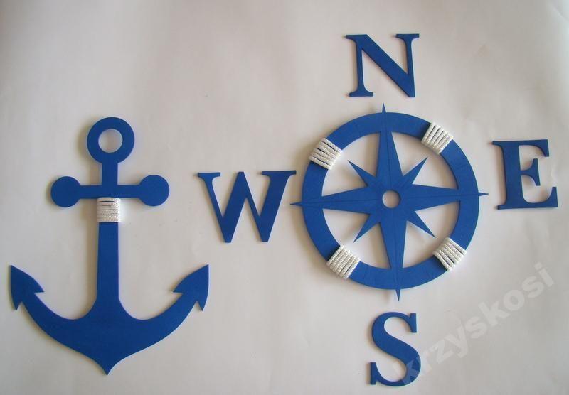 Marine Marynarski Zestaw Marnistyka Kotwica Roz 6025472208 Oficjalne Archiwum Allegro Nautical Decor Decor Clock