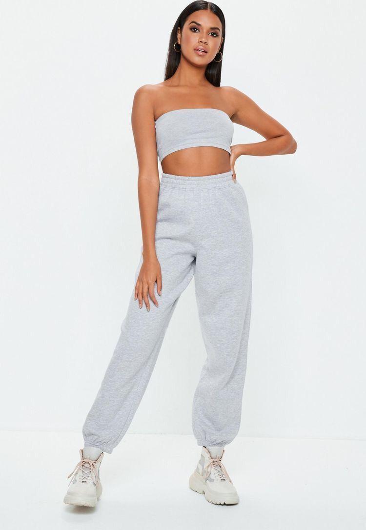 trueprodigy Casuale Donna Pantaloni Tuta Uni Semplice Abbigliamento Urban Moda Vintage Sweat Pant Slim Fit Classic Jogger Moda Vestiti