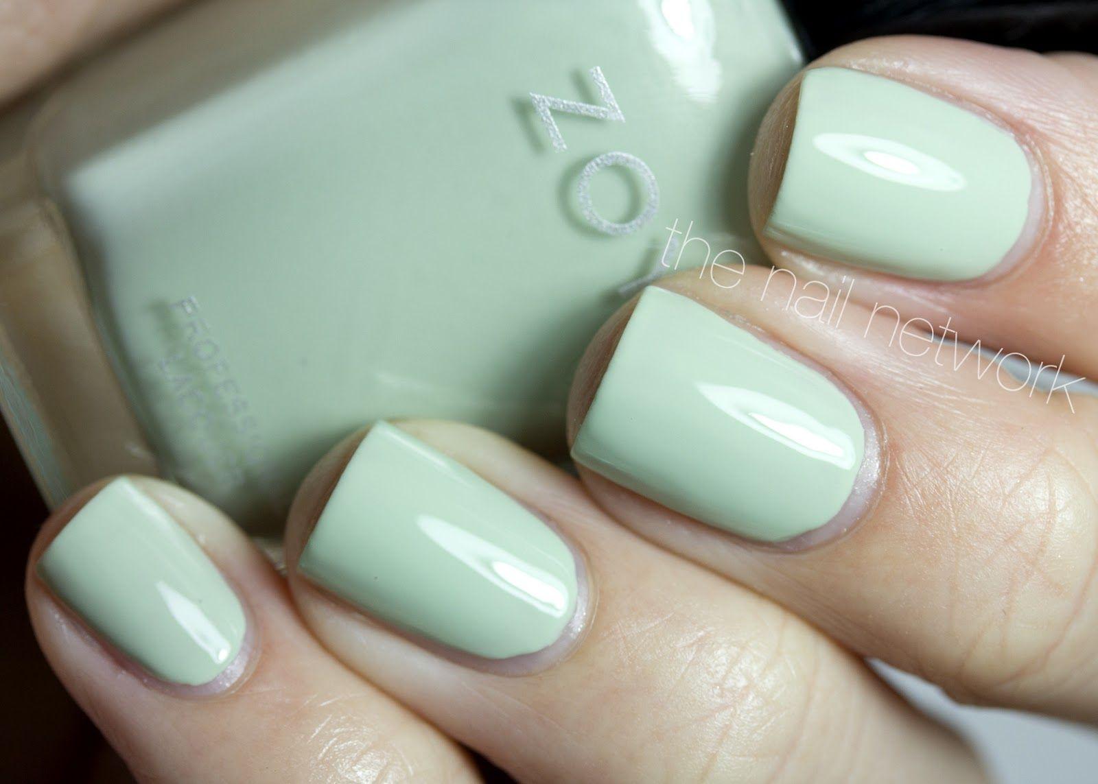 Zoya\'s Blu nail polish (by The Nail Network) | Beauty....Manni\'s ...