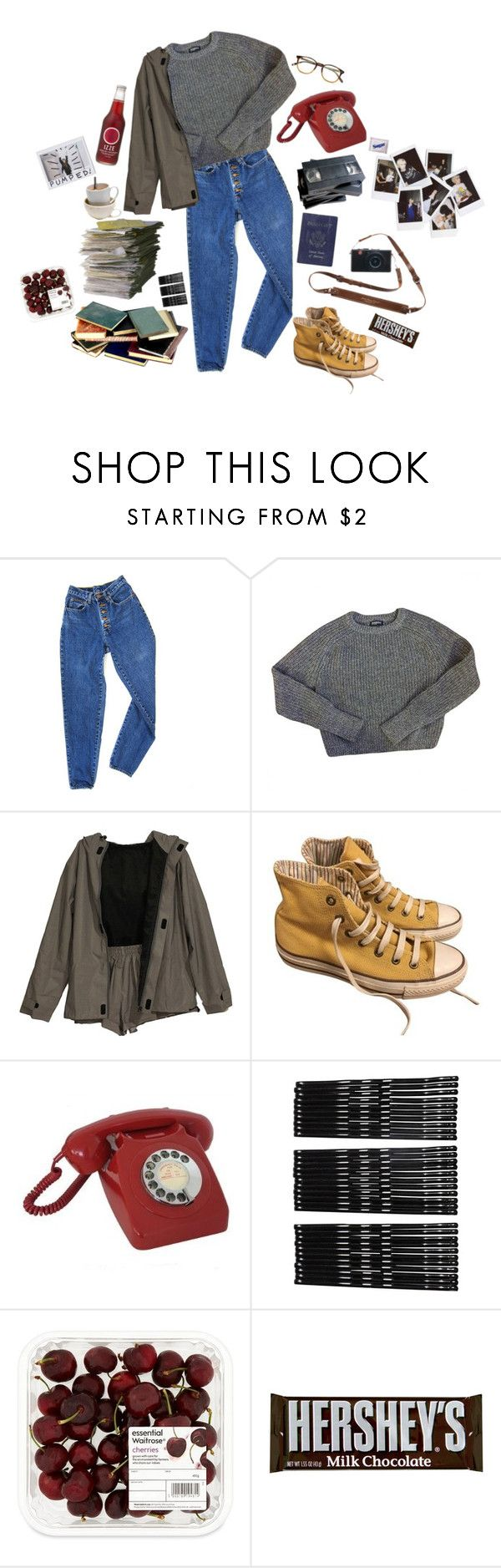 """Lone Digger"" by black-and-white-hipster on Polyvore featuring PèPè, American Apparel, Converse, CO, Nasty Gal, Passport, Monki and Garrett Leight"
