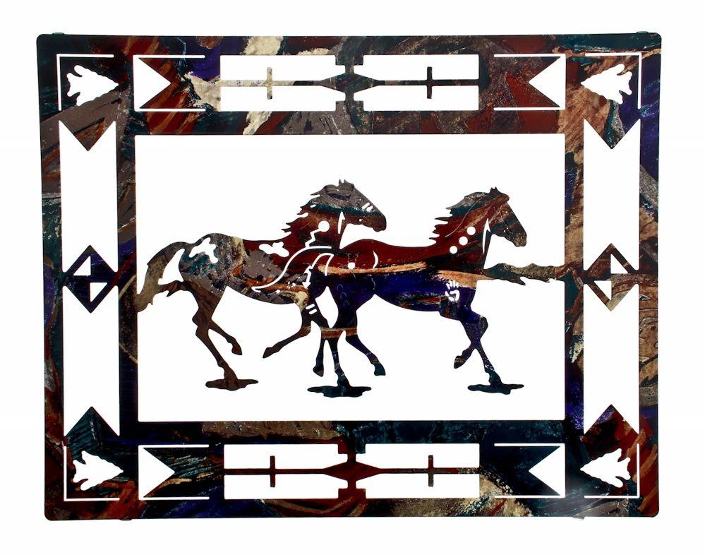 20 Framed Ponies By Artist Neil Rose Western Wall Art Horse