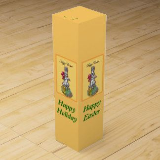 Happy easter 1 wine boxes easter wine giftbox easter wine gift happy easter 1 wine negle Images
