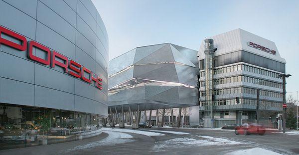 Porsche Factory Design In Stuttgart On Behance Porsche