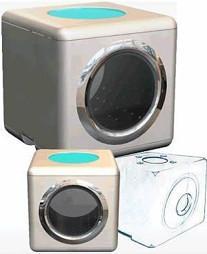 Washer/Dryer Combo for Dorm Room or Small Places. | Small Home ...