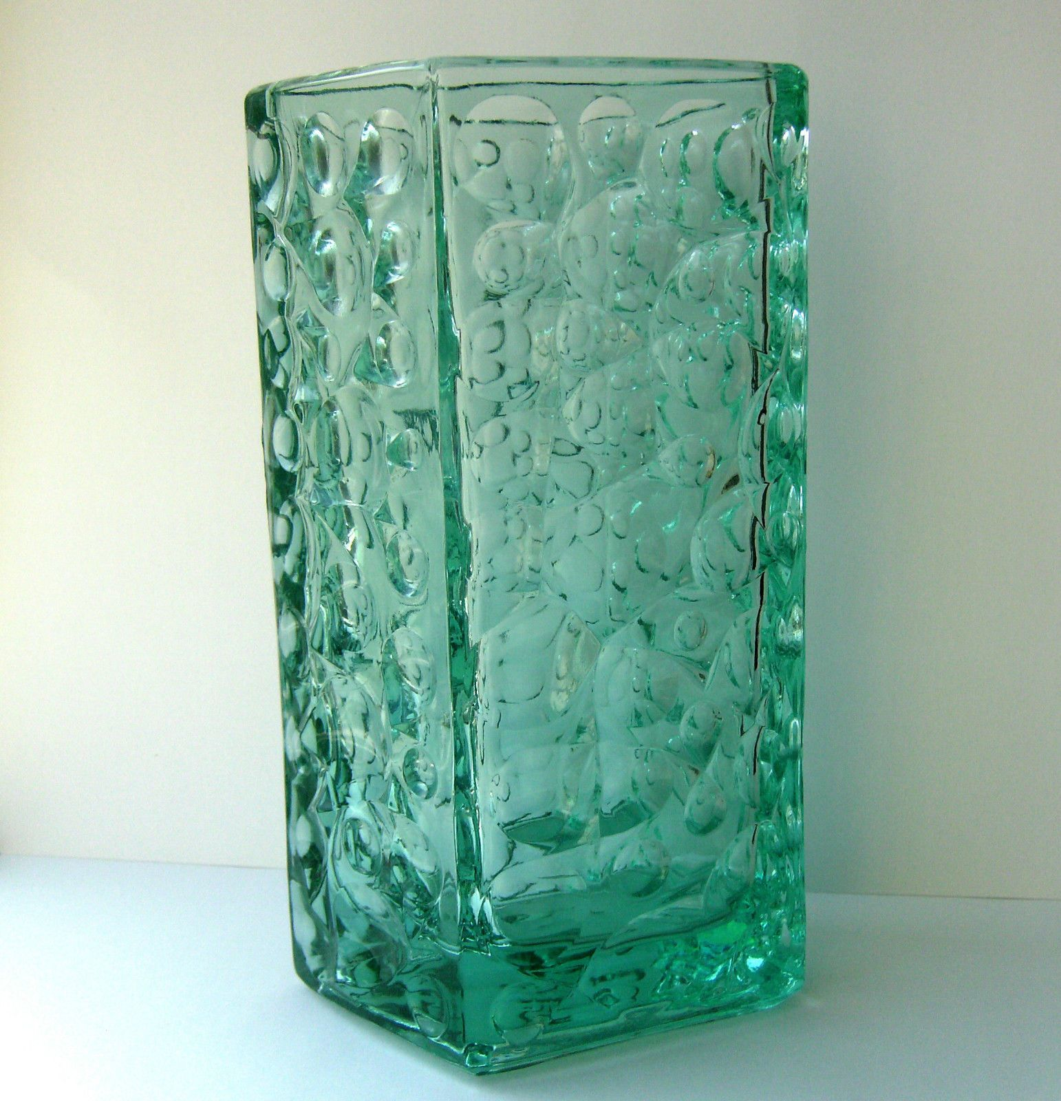 Large sklo union hand pressed glass vase jiri brabec for rosice large sklo union hand pressed glass vase jiri brabec for rosice c1969 ebay reviewsmspy