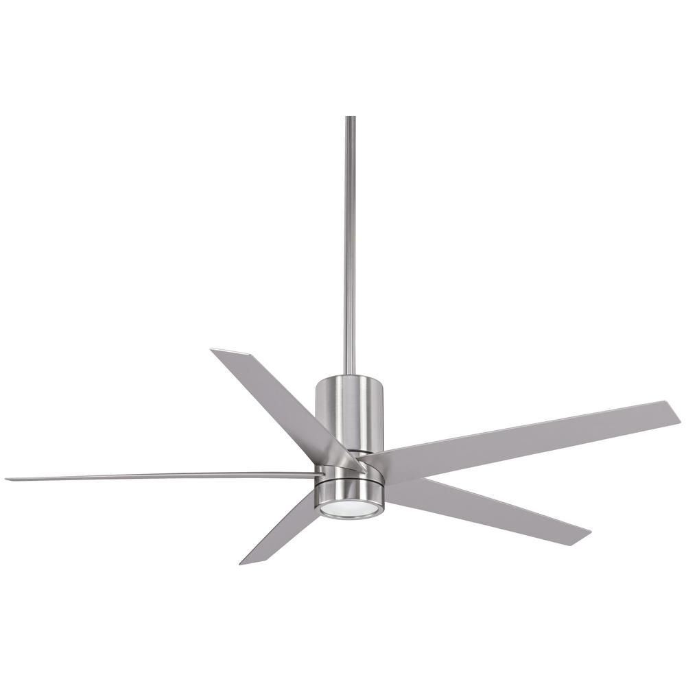 Minka Aire Symbio 56 In Integrated Led Indoor Brushed Nickel