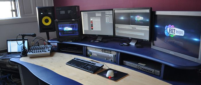 Video production studio design