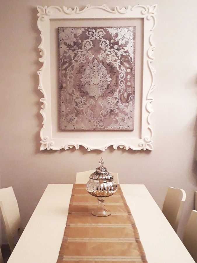 Cornice barocca per stampa. Disponibile su www.materik.it