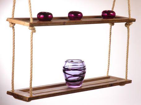 Repisa colgante de madera en iManualidades.com: manualidades y ...