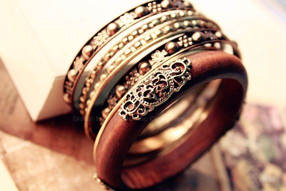 Fashion and Retro Style Engraved Flower Multi-Layered Bracelet For Women, AS THE PICTURE in Bracelets | DressLily.com