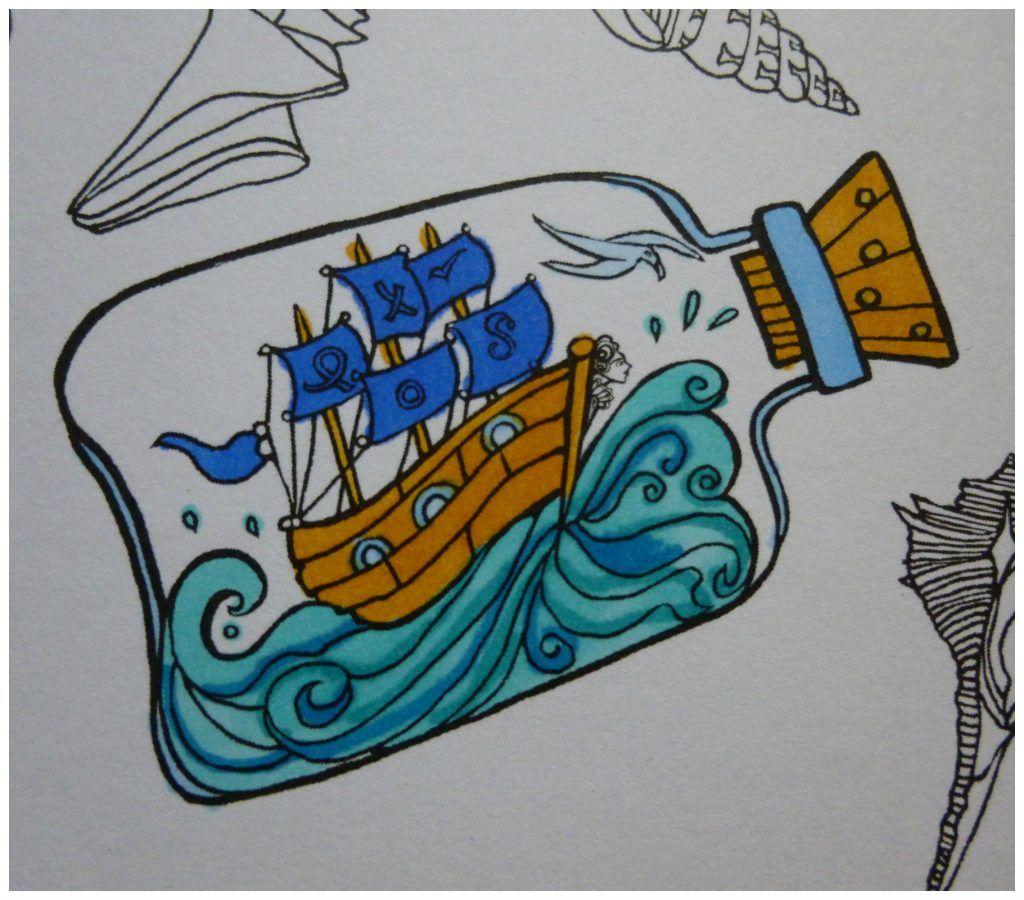 tangle baai een kleurboek vol verborgen schatten recensie