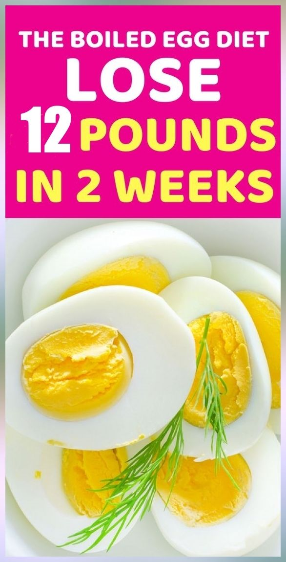 BOILED EGG DIET LOSE 12 POUNDS IN JUST 4 WEEKS