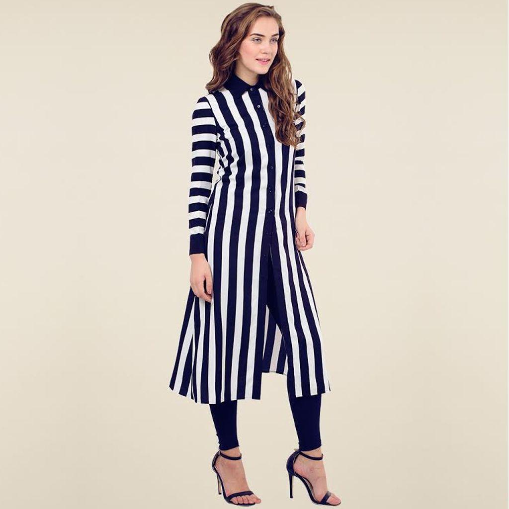 New Kurti Style Western Dress For Women.