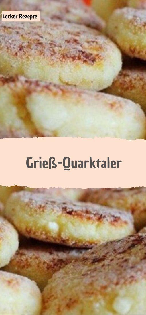 Grieß-Quarktaler