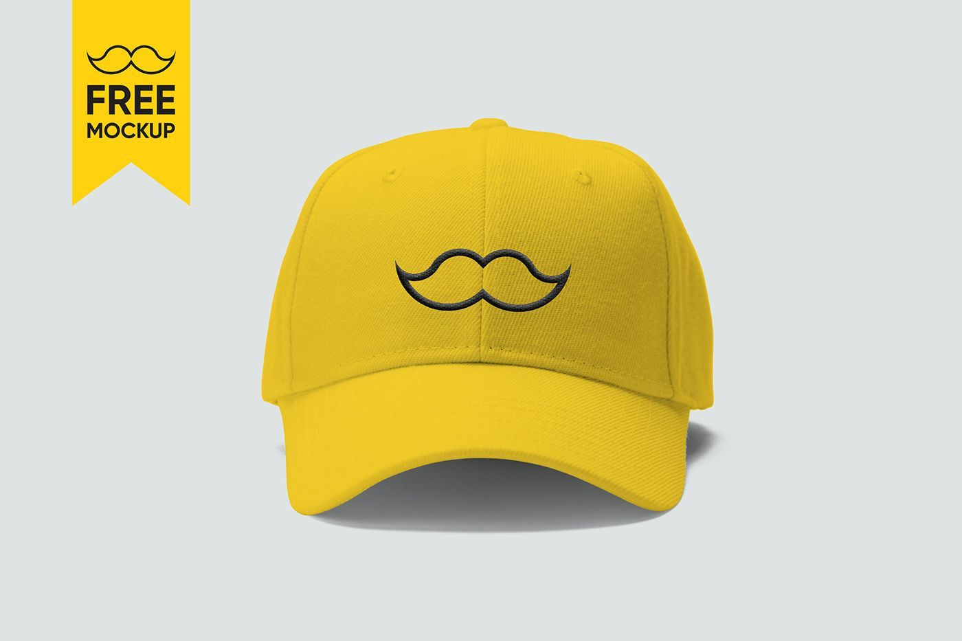 Free Cap Mockup Psd Yellow Baseball Cap Free Mockup For Your Branding And Graphic Design Projects Branding Size 3000 X Mockup Free Psd Free Mockup Mockup Psd