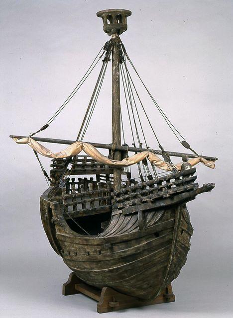 Exvotos - Modelos históricos y técnicos - Armada Española - Ministerio de Defensa - Gobierno de España. Modelo de Coca de Mataró.
